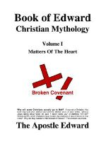 Book of Edward Christian Mythology (Volume I : Matters of the Heart) - Edward G Palmer