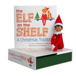 The Elf on the Shelf   A Christmas Tradition : Boy Dark Doll with Storybook - Carol V Aebersold