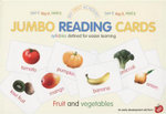 Fruit and Vegetables : My First Academy Jumbo Reading Cards - Ulrich Vn. Helleshaar