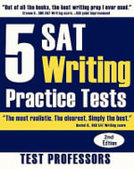 5 SAT Writing Practice Tests - Paul G Simpson, IV