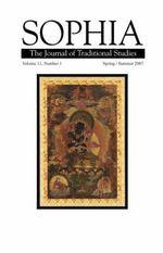 Sophia Volume 13, No. 1 - Dalai Lama