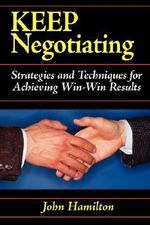 Keep Negotiating - John Hamilton