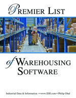 Premier List of Warehousing Software and Warehouse Management Systems - Philip Obal