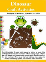 Dinosaur Printable Activities - Sally Faust
