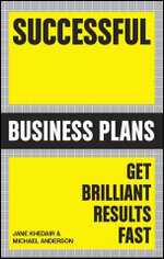 Successful Business Plans : Get Brilliant Results Fast - Australian Edition : Successful Series - Michael Anderson