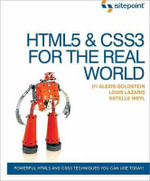 HTML5 and CSS3 in the Real World - Estelle Weyl