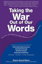 Taking the War Out of Our Words - Sharon Ellison