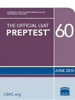 The Official LSAT Preptest 60 : (June 2010 LSAT) - Wendy Margoliis