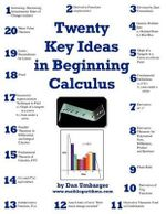 Twenty Key Ideas in Beginning Calculus - Dan Umbarger