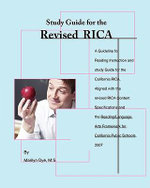 A Study Guide for the Revised Rica : Preparing Children Before They Go to School - Marilyn Dye