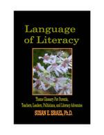 Language of Literacy - Susan E Israel