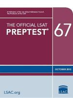 The Official LSAT Preptest 67 : (Oct. 2012 LSAT) - Wendy Margolis