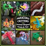 Paracord Critters : Animal Shaped Knots and Ties - J D Lenzen