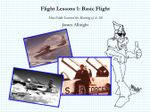 Flight Lessons 1 : Basic Flight: How Eddie Learned the Meaning of it All - James A Albright