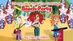 Merry Jane and the Holidays Beach Party - Nancy Hahn