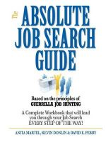 Absolute Job Search Guide - Anita Martel