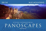 2014 Panoscapes Blue Mountains Wall Calendar - Steven Nowakowski