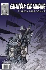 Gallipoli : The Landing : Z Beach True Comics - Hugh Dolan