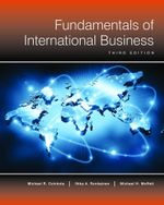 Fundamentals of International Business (3rd Edition) - Michael Czinkota