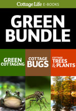 Cottage Life's Green Bundle : 3-Book Set: Green Cottaging; Cottage Bugs; Cottage Trees & Plants - Cottage Life