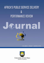 Africa's Public Service Delivery & Performance Review