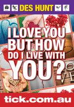 I Love You But How Do I Live With You? - Des Hunt