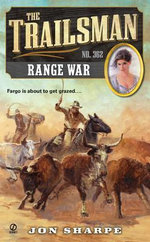 The Trailsman #362 : Range War - Jon Sharpe