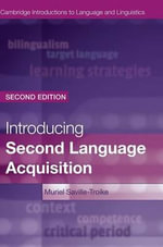 Introducing Second Language Acquisition - Muriel Saville-Troike