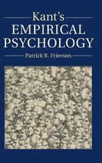 Kant's Empirical Psychology - Patrick R. Frierson