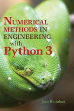 Numerical Methods in Engineering with Python - Jaan Kiusalaas