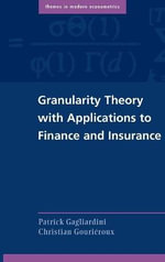 Granularity Theory with Applications to Finance and Insurance - Patrick Gagliardini