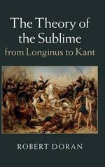 The Theory of the Sublime from Longinus to Kant - Robert Doran