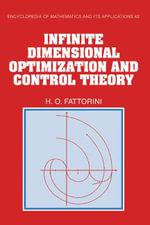 Infinite Dimensional Optimization and Control Theory - Hector O. Fattorini