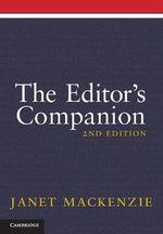 The Editor's Companion - Janet Mackenzie