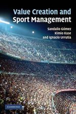 Value Creation and Sport Management - Sandalio Gomez