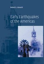 Early Earthquakes of the Americas - Robert L. Kovach