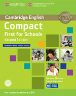 Compact First for Schools Student's Book without Answers with CD-ROM - Barbara Thomas