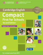 Compact First for Schools Student's Book with Answers with CD-ROM - Barbara Thomas