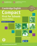 Compact First for Schools Workbook without Answers With Audio - Barbara Thomas
