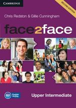 Face2face Upper Intermediate Class Audio CDs (3) - Chris Redston