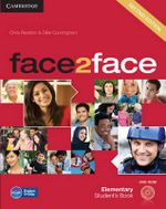 Face2Face Elementary Student's Book with DVD-ROM : Software Version of the Student's Book for Classro... - Chris Redston