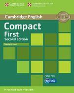Compact First Teacher's Book - Peter May