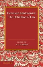 The Definition of Law - Hermann Kantorowicz