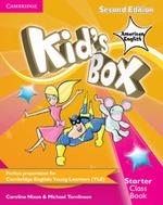 Kid's Box American English Starter Class Book with CD-ROM - Caroline Nixon