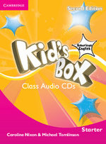 Kid's Box American English Starter Class Audio CDs (2) - Caroline Nixon