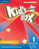 Kid's Box American English Level 1 Workbook with Online Resources - Caroline Nixon