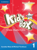 Kid's Box American English Level 1 Class Audio CDs (4) - Caroline Nixon