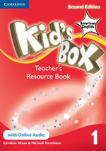 Kid's Box American English Level 1 Teacher's Resource Book with Online Audio - Caroline Nixon