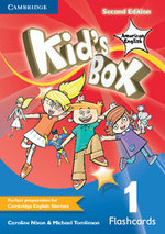 Kid's Box American English Level 1 Flashcards (Pack of 96) - Caroline Nixon
