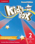 Kid's Box American English Level 2 Workbook with Online Resources - Caroline Nixon
